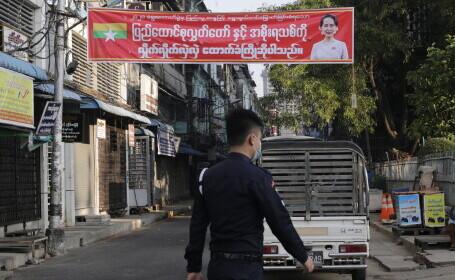 Lovitură de stat în Myanmar. Președintele și premierul au fost arestați, armata a preluat puterea