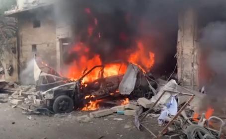 VIDEO. Două atentate cu mașină-capcană, în Siria. 12 oameni au murit, dintre care şapte civili