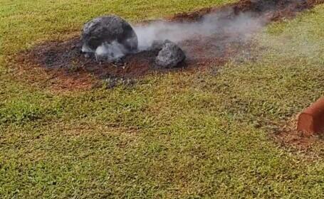 """Reprezentanți NASA, """"păcăliți"""" de un meteorit fals. Ce era de fapt"""