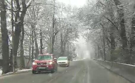 De joi se întoarce iarna în toată țara. Cât de mult vor coborî temperaturile