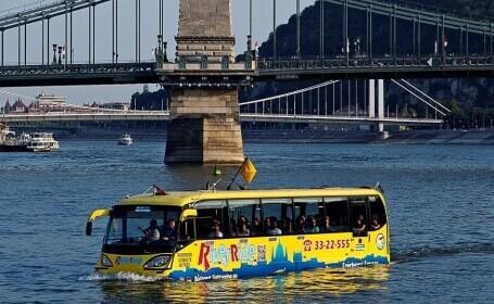 Cum voia să cumpere Administrația Parcurilor din București un autobuz amfibie de jumătate de milion de euro