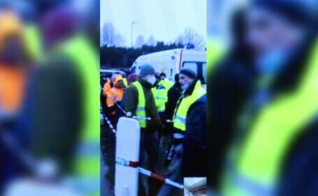 Mii de persoane la cozi pentru testare la intrarea în Germania, TIR-iștii sunt revoltați