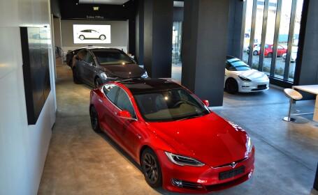 Când se deschide primul shwroom Tesla din România. Va fi cel mai mare din Europa de Est
