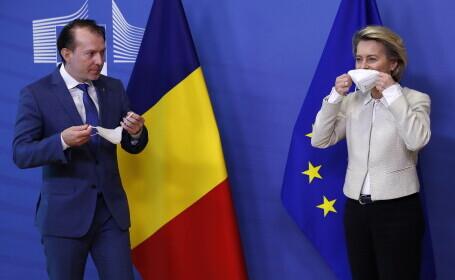 "Șefa Comisiei Europene, Ursula von der Leyen, mesaj în limba română: ""Mulțumesc, România"""