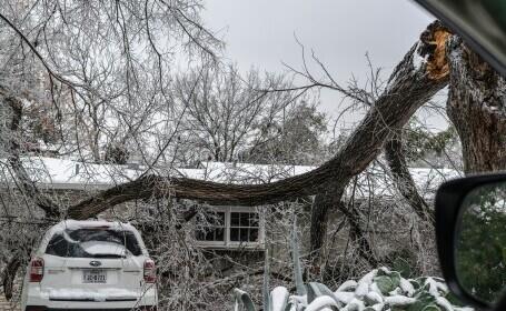 Frig și beznă în orașe întregi din SUA după furtuna de zăpadă. 58 de morți în Texas