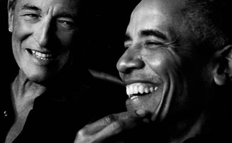Barack Obama și Bruce Springsteen vor lansa un podcast pe Spotify. Ce subiecte vor aborda