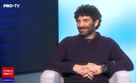 """Firicel din """"Las Fierbinți"""", provocat pe stradă după palmele din serial. Interviu cu Toma Cuzin, miner, dansator și bodyguard"""