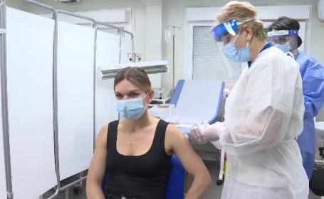 """Simona Halep, după ce s-a imunizat împotriva Covid-19: """"Sper cât mai mulți să se vaccineze"""""""