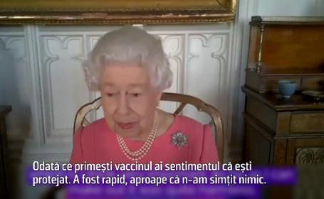 "Regina Elisabeta, despre vaccinarea anti-Covid. ""Nu doare deloc"""