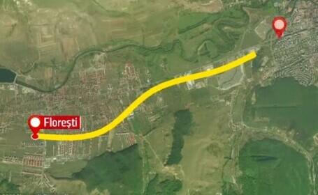 Metroul din Cluj-Napoca s-a lovit de un \