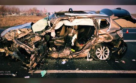 Şoferul care a provocat accidentul cu 2 morţi din Giurgiu riscă 10 ani de închisoare. Ce a făcut, după tragedie
