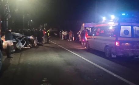 Tragedie în Bistrița-Năsăud. Un tânăr de 17 ani a murit într-un accident rutier