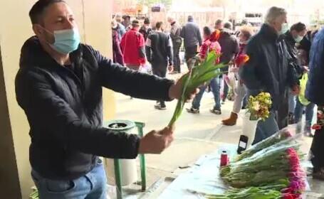 Flori de 1 martie, peste tot la vânzare. A început goana după vestitorii primăverii