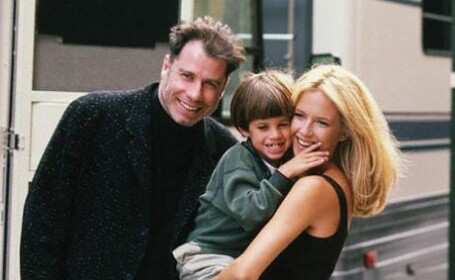 John Travolta, Kelly Preston, Jett Travolta