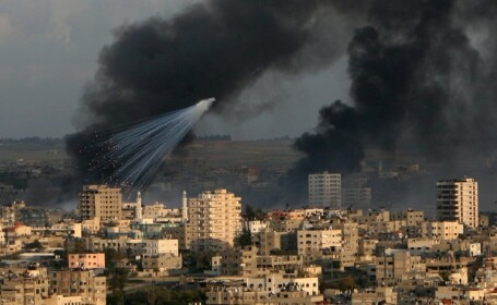 Inca noua romani pleaca din iadul din Fasia Gaza