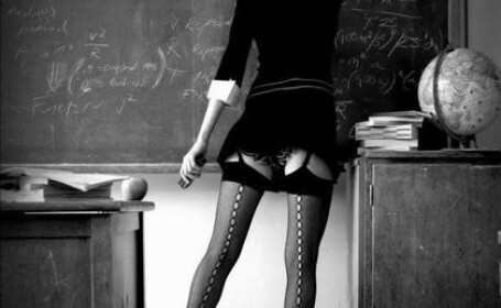 sexy profesoara