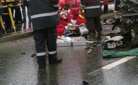 Un mort si sapte raniti intr-un accident rutier produs pe DN 1