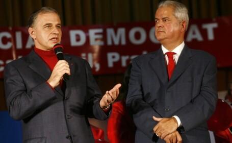 Mircea Geoana si Adrian Nastase