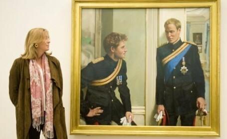 Printii William si Harry, la primul lor portret impreuna!