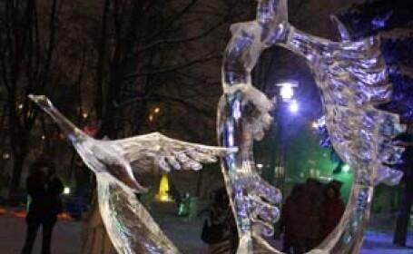 sculptura de gheata