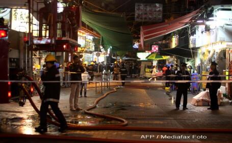Suspect retinut in cazul atacurilor cu acid de la Hong Kong