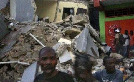 Au aparut noi imagini infricosatoare din timpul cutremurului din Haiti!