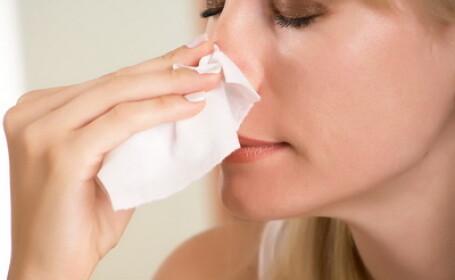 Ce s-a intamplat cu chipul acestei femei din cauza unor picaturi de nas
