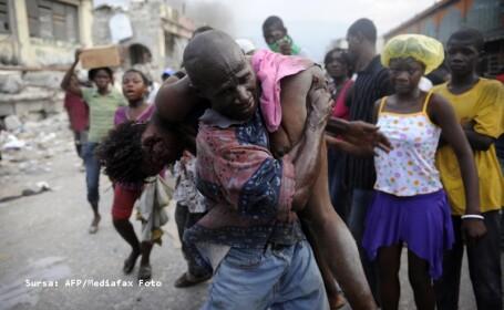 Fata de 15 ani, impuscata mortal in Haiti, pentru cateva tablouri furate