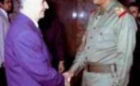 Saddam Hussein si Nicolae Ceausescu