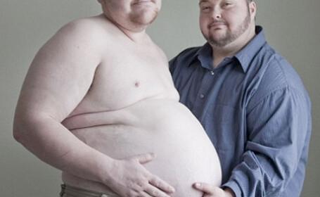 Al doilea barbat gravid! Va naste in luna februarie