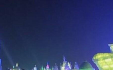 Tinutul Zapezii exista in China, la festivalul sculpturilor din gheata