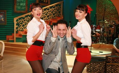 Catalin Maruta si Cheeky Girls