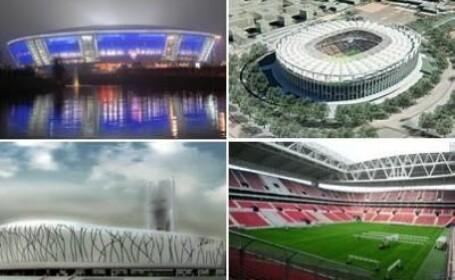 FOTO! Cele mai tari stadioane din Europa de Est construite de romani