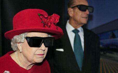 Regina Elisabeta a II-a 3D