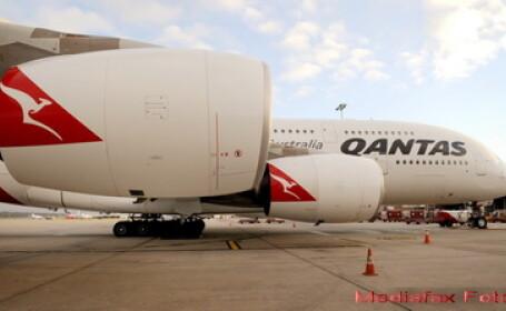 Qantas Airbus A380 vs. Starship Enterprise. Asemanarile incredibile. GALERIE FOTO