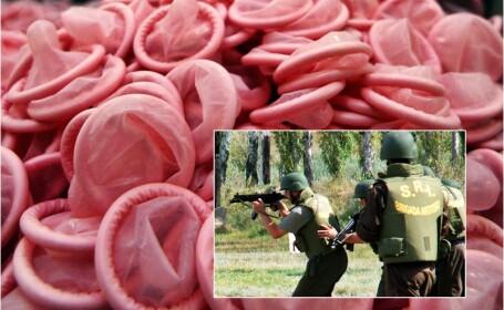 O unitate SRI a cumparat 50 de prezervative pentru a le folosi la \