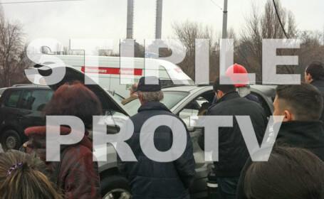 Accidentul lui Mircea Lucescu - FOTOGRAFII EXCLUSIVE STIRILE PROTV - 4