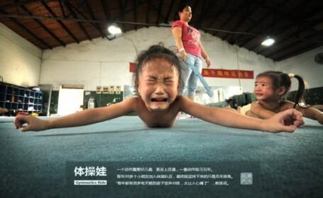 Micile gimnaste chineze la antrenament - 3