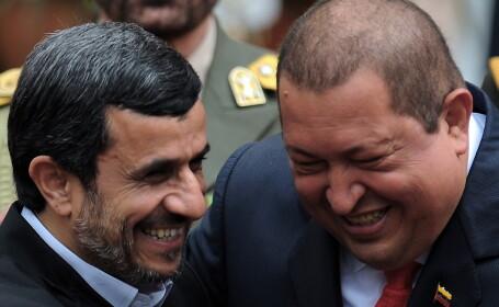 Iranul are cel putin un prieten in conflictul cu SUA: presedintele Venezuelei, Hugo Chavez