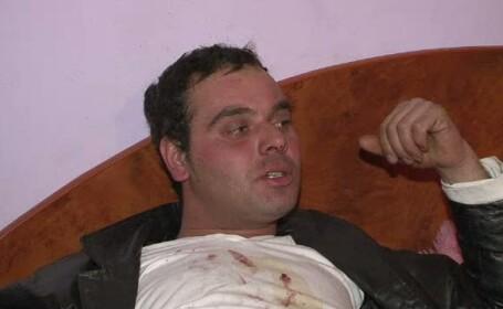 Barbat batut de agentii de paza in Spitalul Buzau, dupa ce a facut scandal si a injurat asistentele
