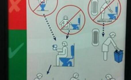 poster toaleta