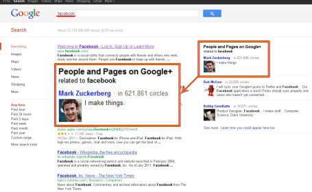 Google - Facebook