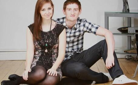 Tom Hallron si Laura Pardoe