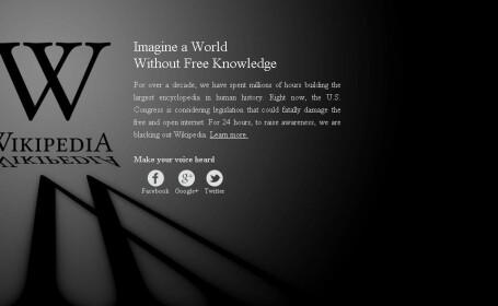 Unul dintre cele mai accesate site-uri din lume este inchis pentru 24 de ore. Motivele protestului