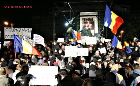 Bilantul celei de-a sasea zile de proteste: 5 tineri, ridicati. Igas: \