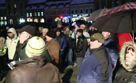 Protest Brasov