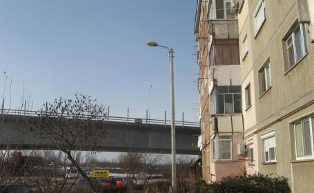 Autostrada sub balcon