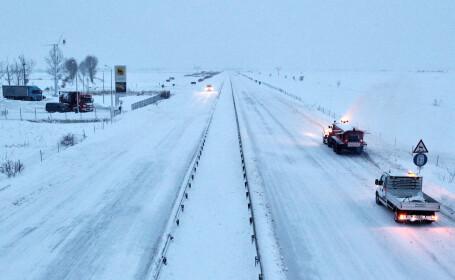 Traficul pe Autostrada A1 deschis pentru toate tipurile de vehicule