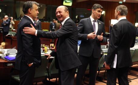 Traian Basescu la summit