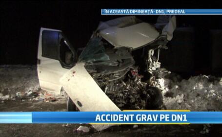 accident DN1 cu autocar MApN